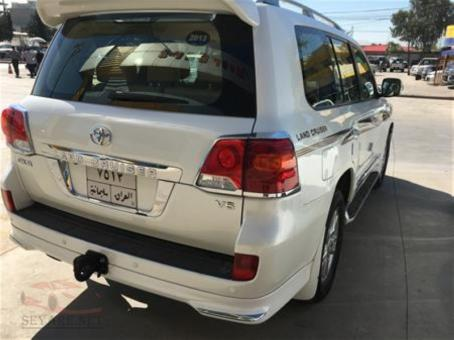 Toyota land cruser 2013